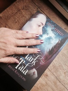 I got my nails done to match the cover - lol!
