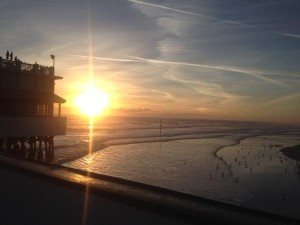 sunrise in Daytona Beach
