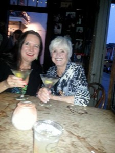 Kathy & Jeffe at Lafitte's March 2015